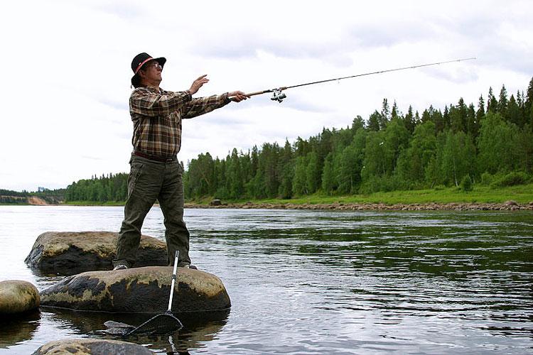 Ловить рыбу в финляндии