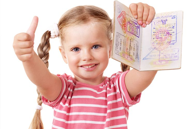 Фото маленьких детей для визы