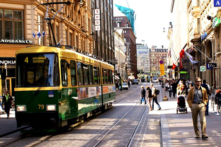 Шоппинг в Хельсинки, шоппинг маршруты по магазинам изоражения