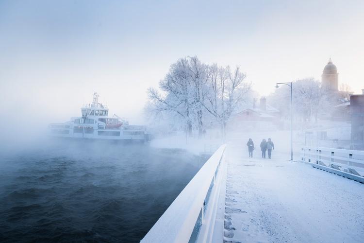 Добраться до Суоменлинны можно только на пароме. Фото: suomenlinna.fi