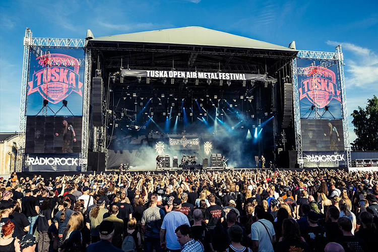 Фестиваль тяжелого рока Tuska Open Air Metal Festival