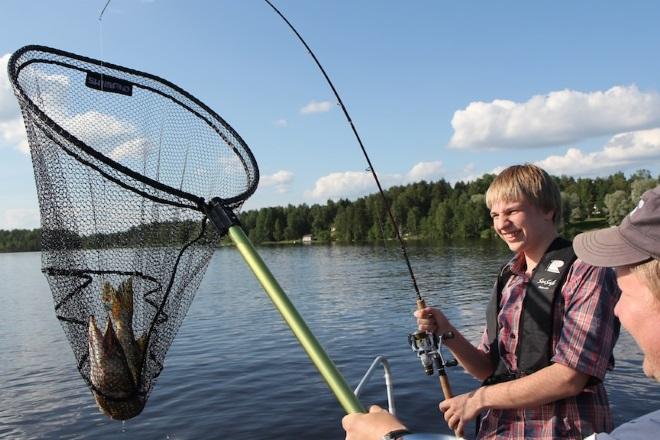 Рыбалка на сайме