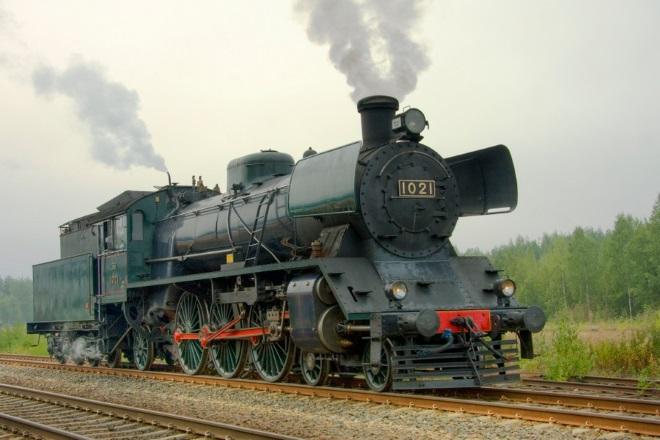 Паровой локомотив