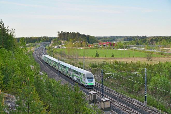 Двухэтажный междугородний поезд InterCiti (IC)