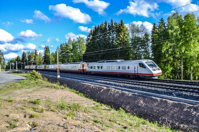 Поезд Pendolino