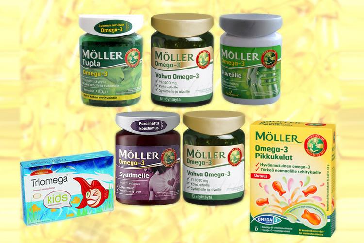 Витамины Moller nivelille