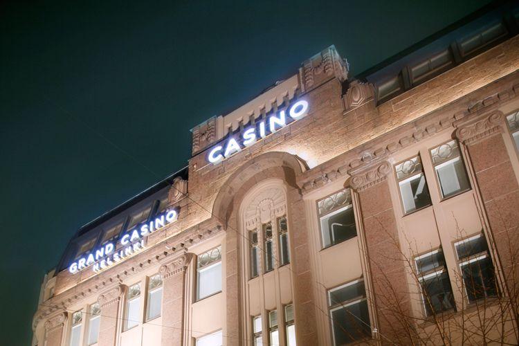 В казино хельсинки