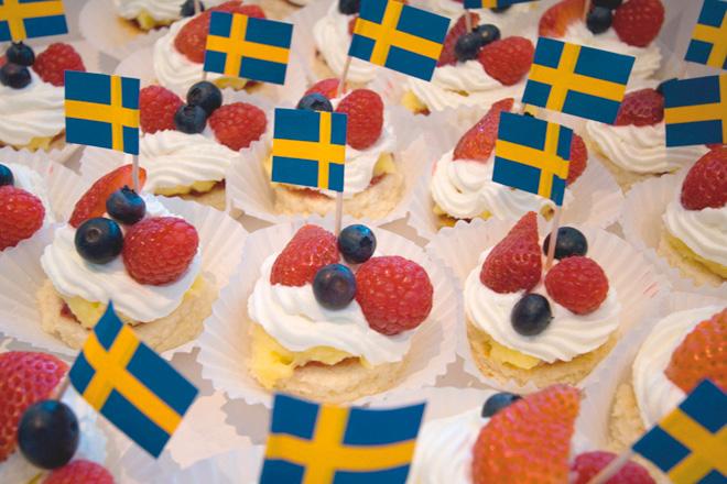Поздравления с днем рождения на шведском