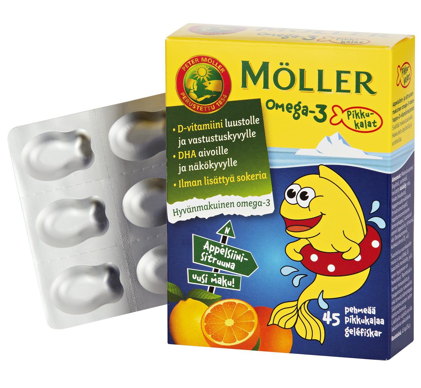 Рыбий жир Moller для детей